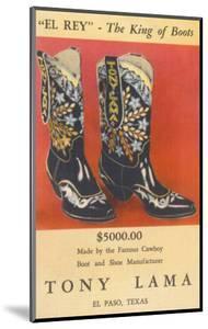 Cowboy Boots by Tony Lama