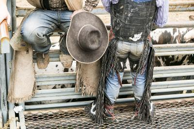 Cowboy Competitor in His Riding Regalia, Taos, New Mexico-Julien McRoberts-Photographic Print
