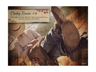 Cowboy Reason IV-Shawnda Craig-Art Print