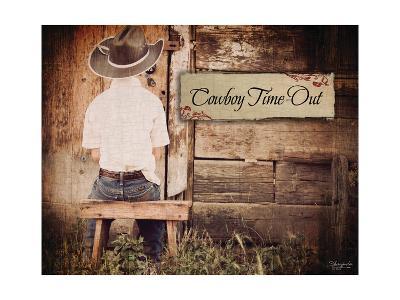 Cowboy Time Out-Shawnda Craig-Art Print
