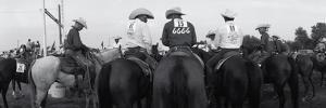 Cowboys on Horses at Rodeo, Wichita Falls, Texas, USA