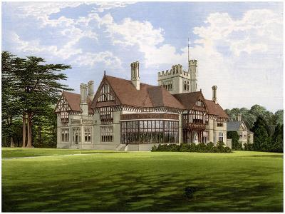 Cowdray Park, Sussex, Home of the Earl of Egmont, C1880-AF Lydon-Giclee Print