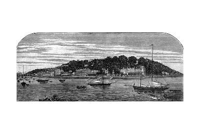 Cowes Harbour, Isle of Wight, Late 19th Century--Giclee Print