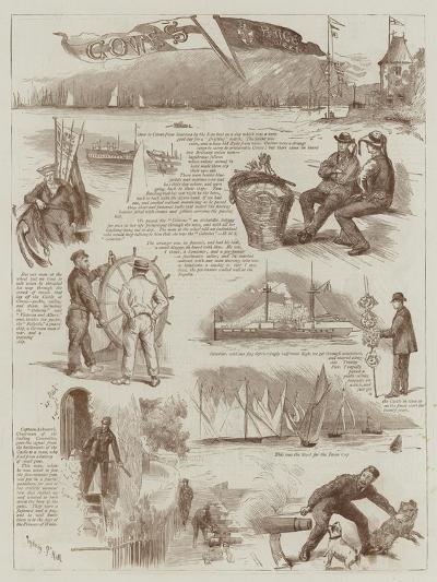 Cowes' Race Week-Sydney Prior Hall-Giclee Print