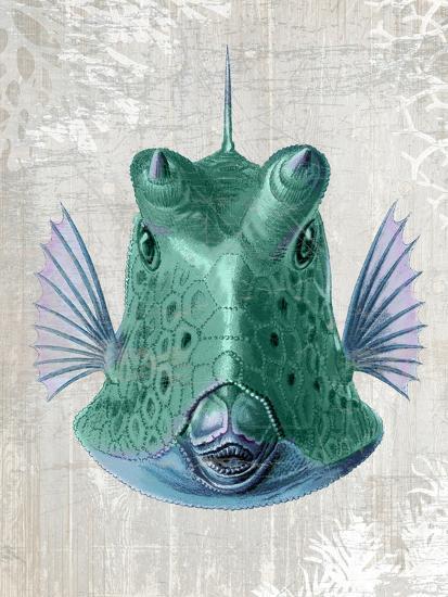Cowfish-Fab Funky-Art Print