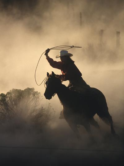 Cowgirl-DLILLC-Photographic Print