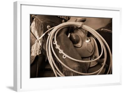 Cowgirls Lasso-Lisa Dearing-Framed Photographic Print