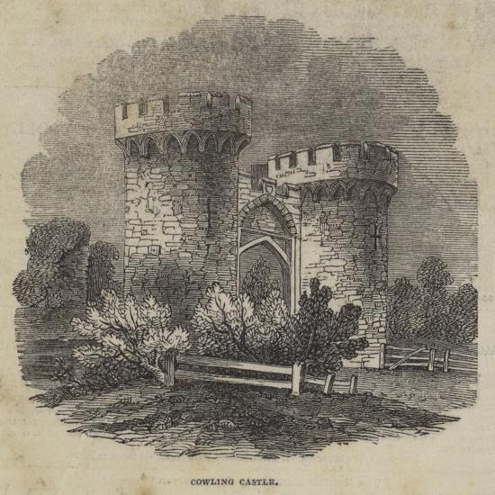 Cowling Castle--Giclee Print