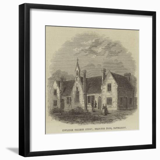 Cowlinge College School, Branches Park, Newmarket--Framed Giclee Print