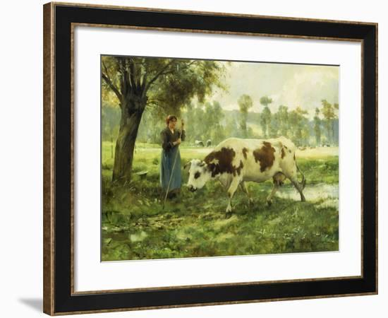 Cows at Pasture-Julien		 Dupre-Framed Giclee Print