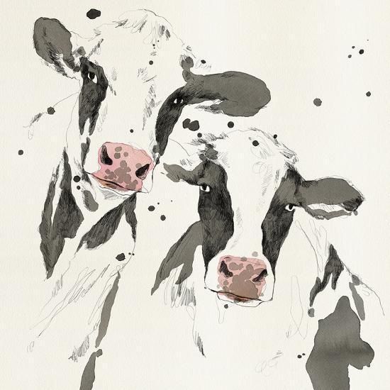 Cowshed Beauties-Kristine Hegre-Giclee Print