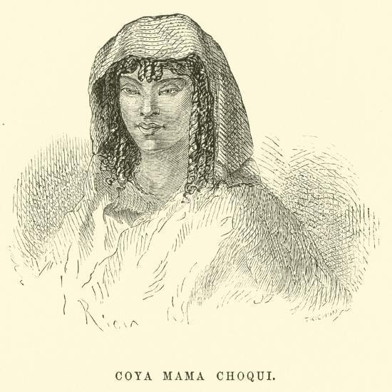 Coya Mama Choqui-?douard Riou-Giclee Print