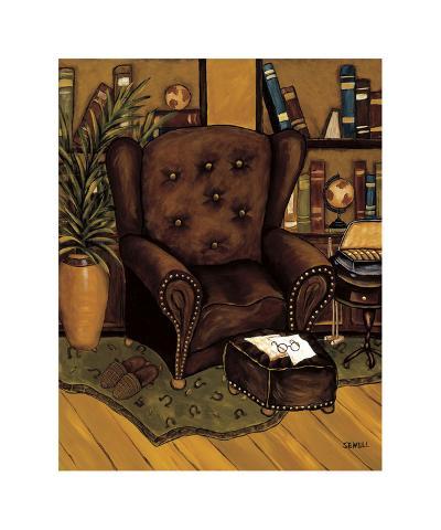 Cozy Den III-Krista Sewell-Giclee Print