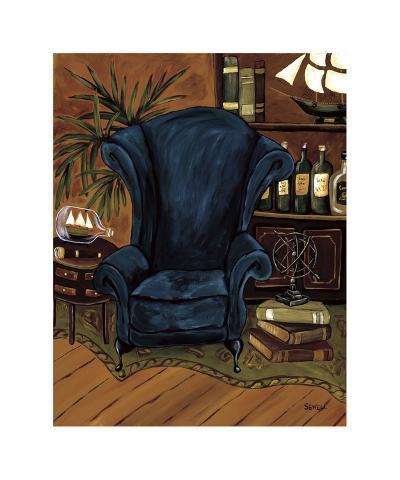 Cozy Den IV-Krista Sewell-Giclee Print
