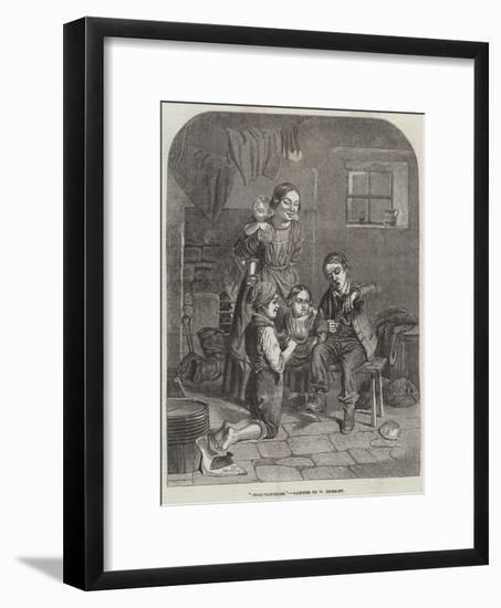 Crab-Catchers-William Hemsley-Framed Giclee Print