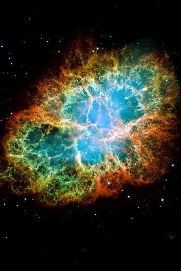 Crab Nebula Space Photo--Poster