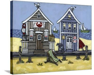 Crab Shack--Stretched Canvas Print