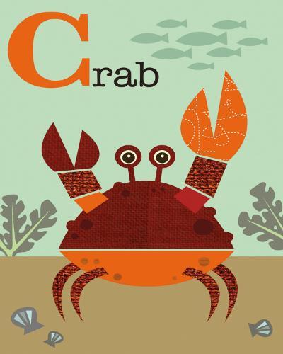 Crab-Jenn Ski-Art Print