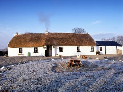 Crabtree Cottage, a Traditional Irish Thatched Cottage-Chris Hill-Photographic Print