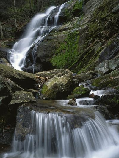 Crabtree Falls, Nelson Co, Virginia, USA-Charles Gurche-Photographic Print
