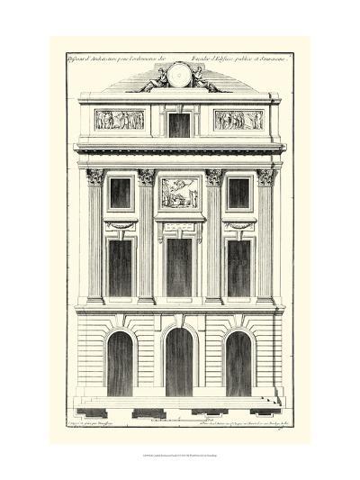 Crackle B&W Architectural Facade II-Jean Deneufforge-Art Print