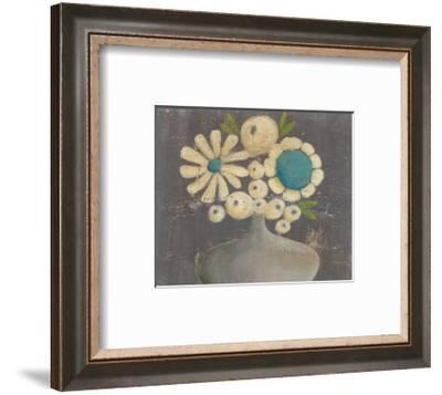 Crackled Bouquet I-Regina Moore-Framed Art Print