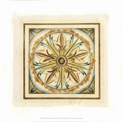 Crackled Cloisonne Tile I-Chariklia Zarris-Premium Giclee Print