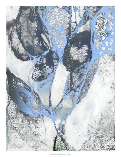 Crackled Flowers II-Julie Silver-Giclee Print