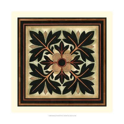 Crackled Square Wood Block IV-Vision Studio-Art Print
