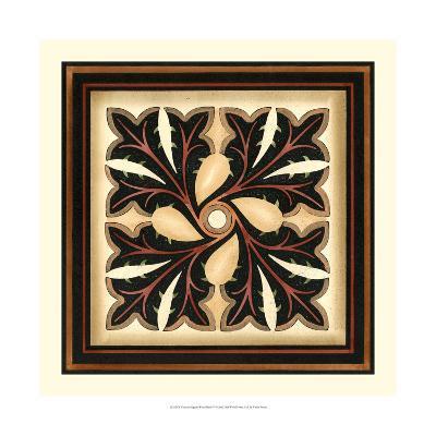 Crackled Square Wood Block V-Vision Studio-Art Print
