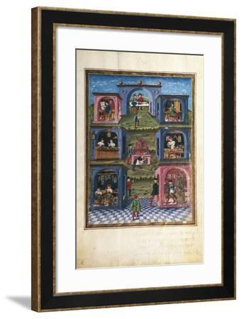 Craftsmen under the Influence of Mercury--Framed Giclee Print