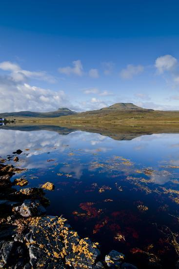 Craggy Seascape of Loch Dunvegan on the Isle of Skye-Charles Bowman-Photographic Print