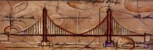 Modern Bridge One by Craig Alan