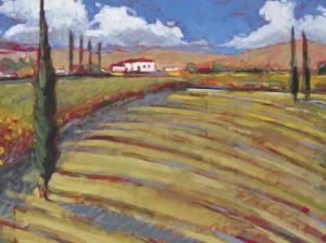 Pastoral Fields I by Craig Alan