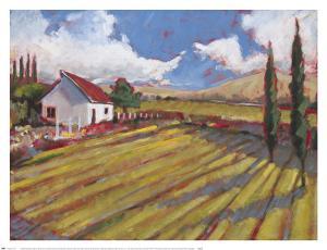 Pastoral Fields II by Craig Alan