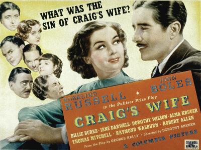 Craig's Wife, with Jane Darwell, Billie Burke, Thomas Mitchell, and Robert Allen, 1936--Photo