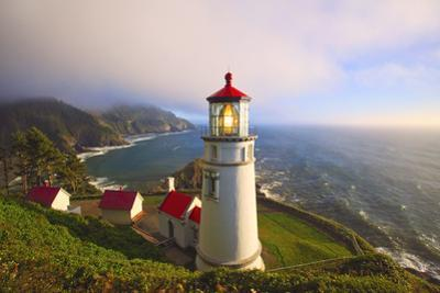 Heceta Head Lighthouse, Oregon Coast, Pacific Ocean, Pacific Northwest by Craig Tuttle