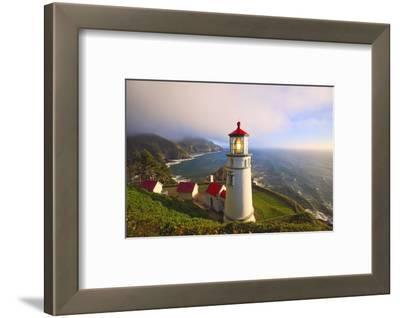 Heceta Head Lighthouse, Oregon Coast, Pacific Ocean, Pacific Northwest