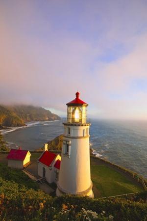 Heceta Head Lighthouse, Oregon Coast, Pacific Ocean, Pacific Northwest by Craig Tuttle