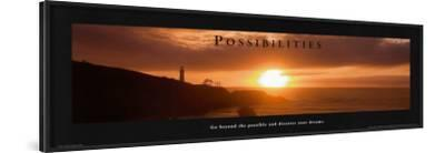 Possibilities: Lighthouse at Sunset
