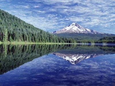 Reflection of Mt. Hood in Trillium Lake by Craig Tuttle