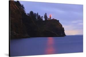 Sunrise Cape Disapointment Lighthouse, Washington State, Pacific Northwest by Craig Tuttle