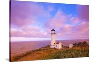 Sunrise North Head Lighthouse, Washington State, Pacific Ocean, Pacific Northwest by Craig Tuttle