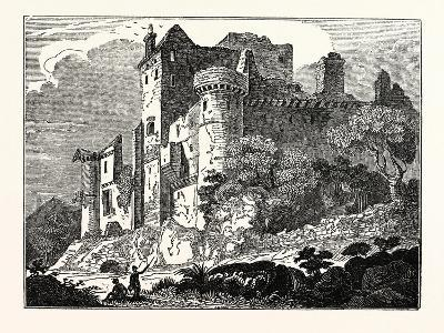 Craigmillar Castle, Edinburgh, Scotland, UK--Giclee Print