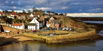 Crail Harbour, Fife, Scotland, United Kingdom, Europe-Karen Deakin-Photographic Print