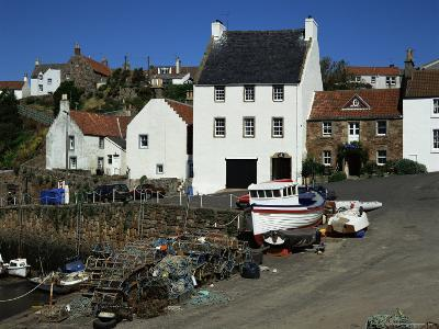Crail Harbour, Neuk of Fife, Scotland, United Kingdom-Kathy Collins-Photographic Print