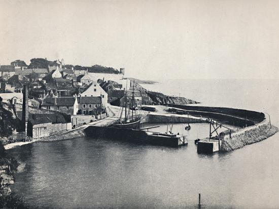 'Crail - The Village and the Harbour', 1895-Unknown-Photographic Print