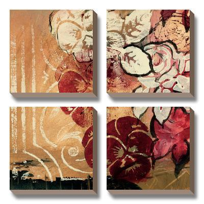 Cranberries and Crème II-Laurie Fields-Canvas Art Set