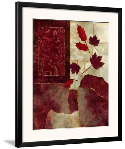 Cranberry Fall I-Norm Olson-Framed Art Print