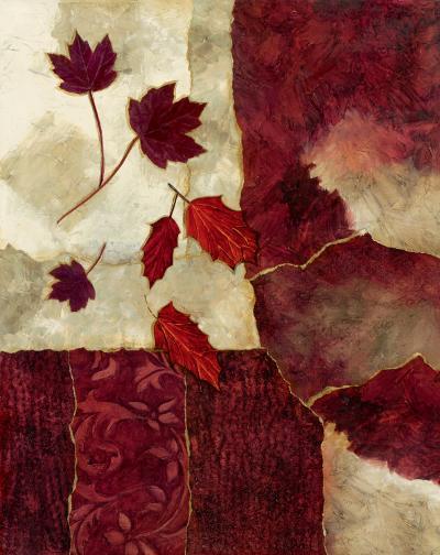 Cranberry Fall II-Norm Olson-Art Print